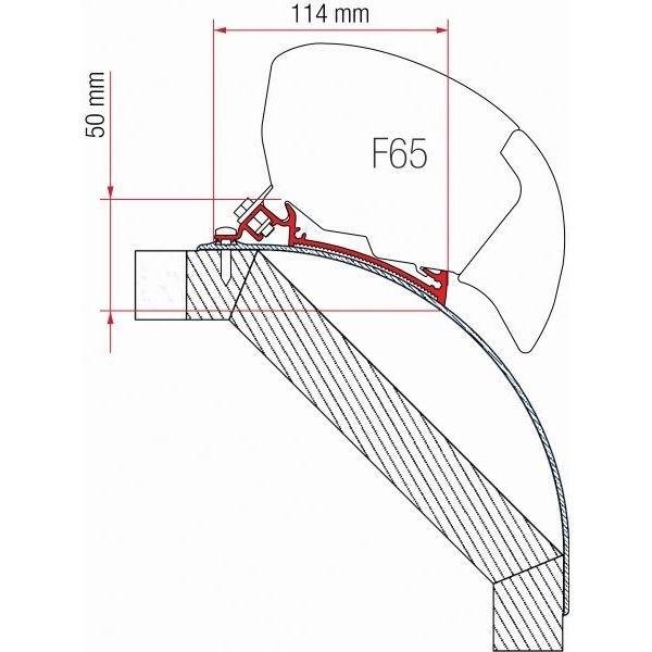Adapter FIAMMA Kit Laika Kreos 05 ab Modelljahr 2005 für F80 F65