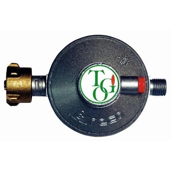 Gasdruckregler TGO 30 mbar Sicherheits Abblaseventil ohne Manometer 0,8 kg/h