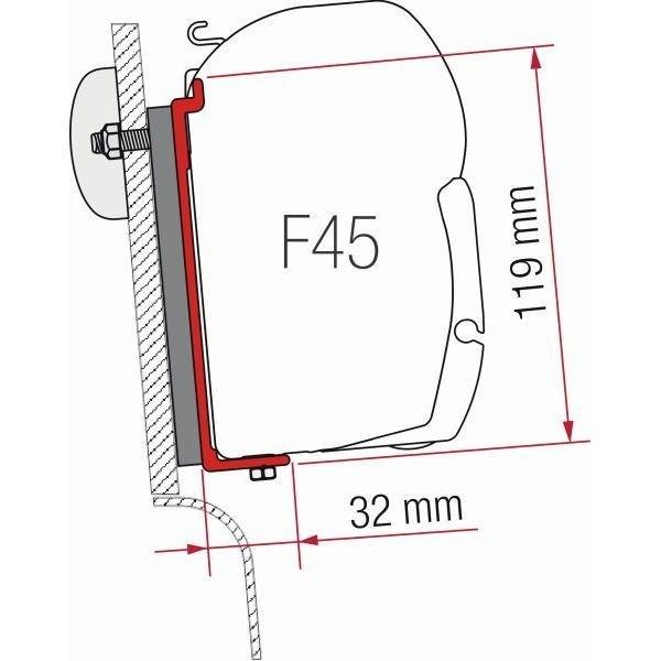 Adapter FIAMMA Kit Westfalia High Roof für F45 F70 ZIP