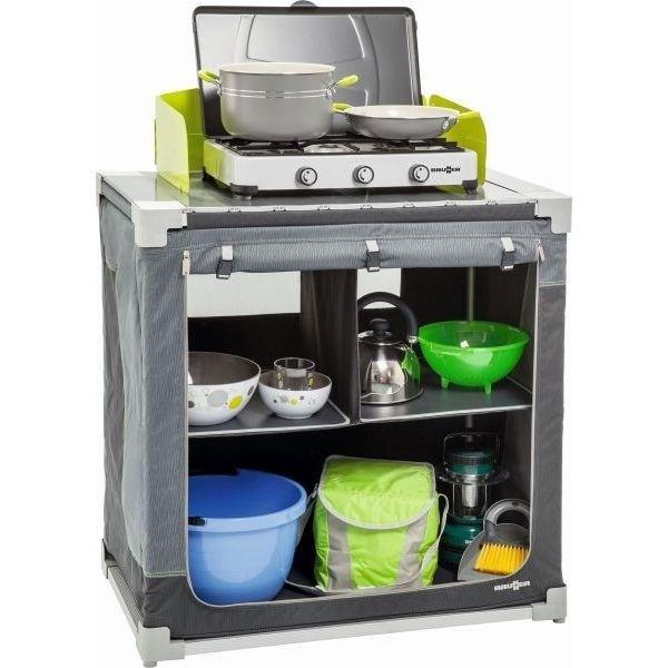 Küchenschrank BRUNNER Jum Box 3G CT grau