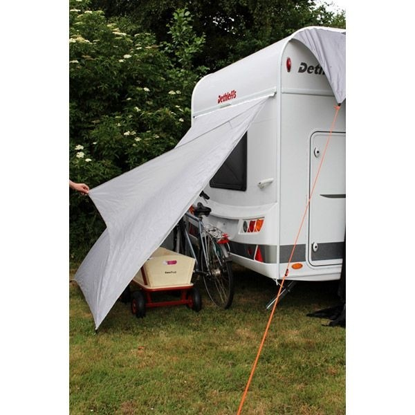 Heckzelt EUROTRAIL Bike Shelter Caravan 150 x 190 cm grau