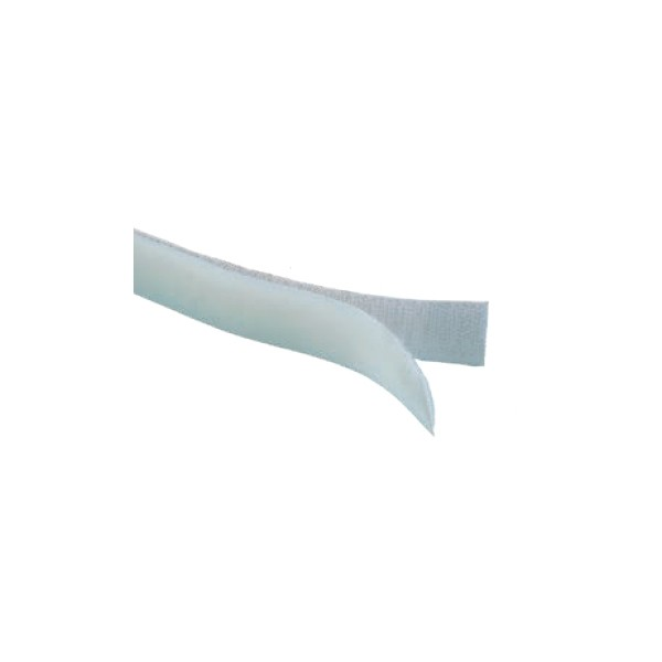 Dittmann Klettband weiß zum Annähen