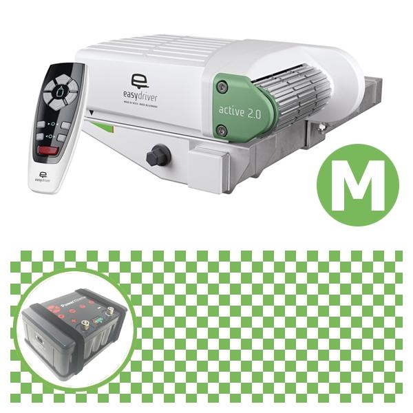 Easydriver active 2.0 Rangierhilfe Reich mit Power Set Green M X20