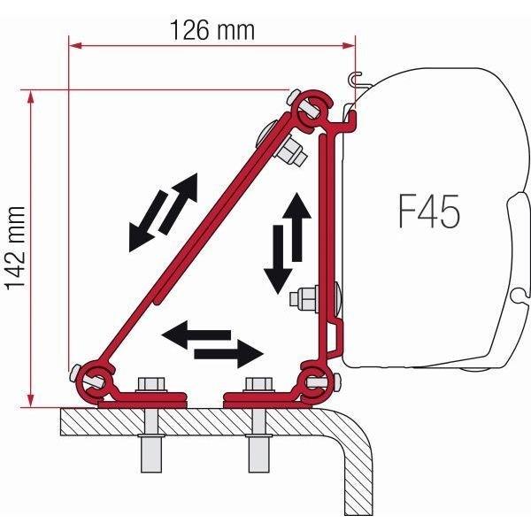 Adapter FIAMMA Kit Multi für F45 F70 ZIP