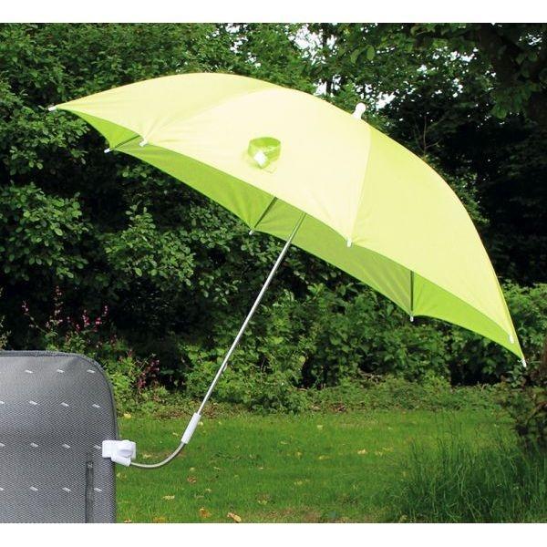 Sonnenschirm EUROTRAIL für Stühle grün
