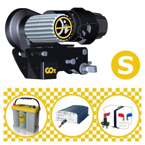 Truma Mover Go2 Rangierhilfe mit Power Set Yellow S