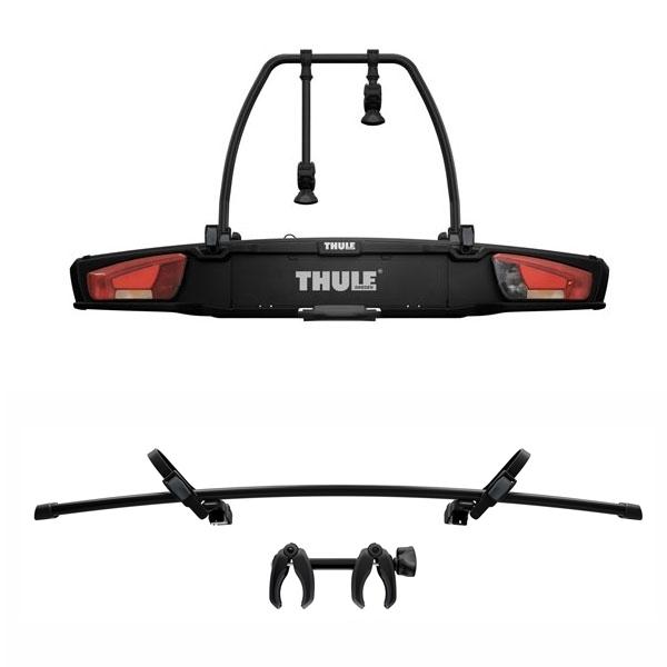 THULE 938 VeloSpace XT 2 Fahrradträger black für 3 Räder 2+1 inkl. 9381