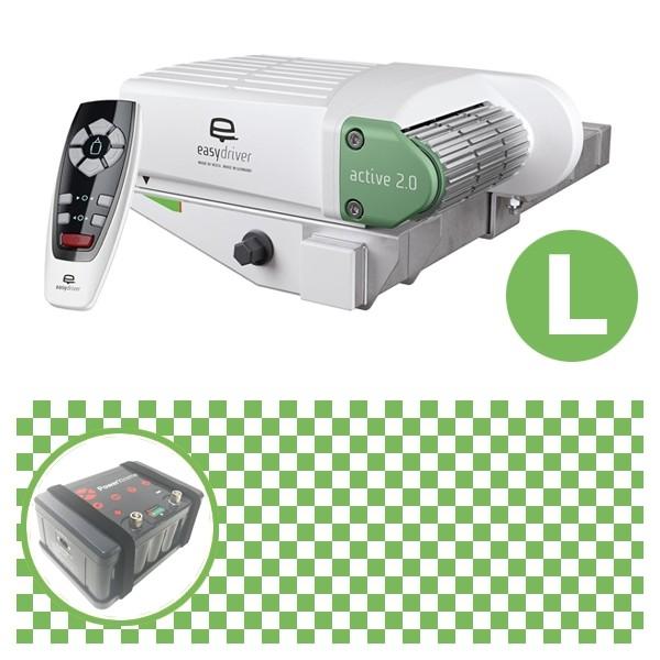 Easydriver active 2.0 Rangierhilfe Reich mit Power Set Green L X30