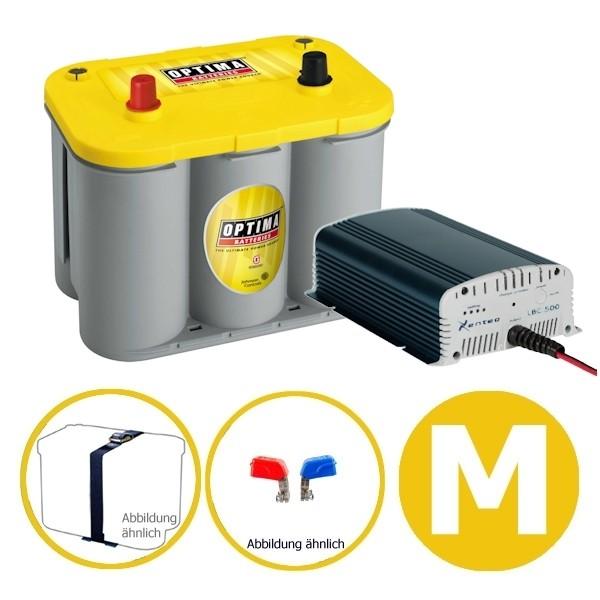Power Energy Set 55 Ah YELLOW M Optima Xenteq
