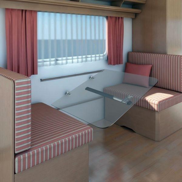 Tisch Gleitschiene FAWO Set oben und unten