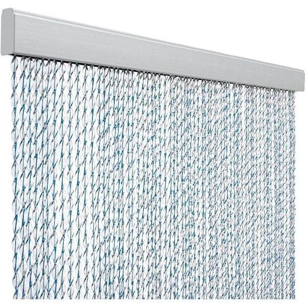 Türvorhang ARISOL Kordelvorhang SARA blau 100 x 220 cm