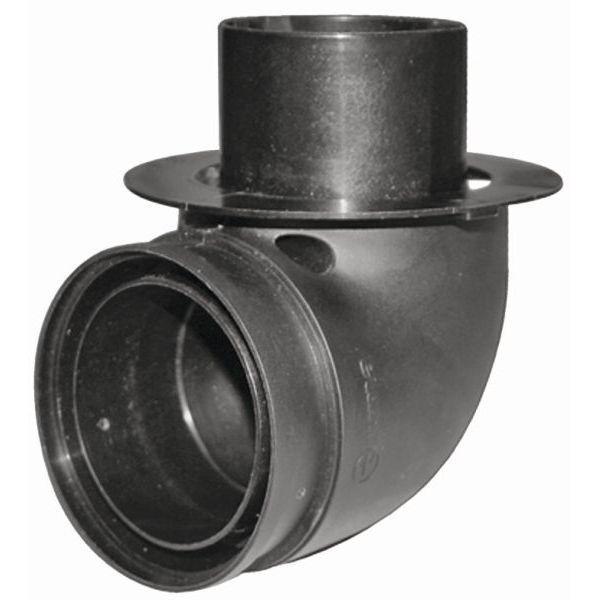 Dükerbogen TRUMA BGI für Rohr ø 65 mm schwarz
