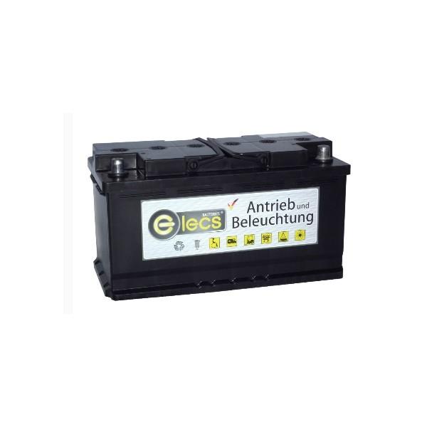 AGM Batterie Elecs 95 Ah wartungsfrei für Antrieb Beleuchtung Autark