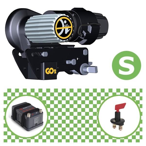Truma Mover Go2 Rangierhilfe mit Power Set Green S X10