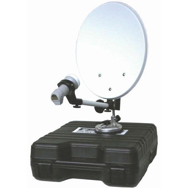 Sat Anlage MEGASAT im Campingkoffer inkl. HD Receiver