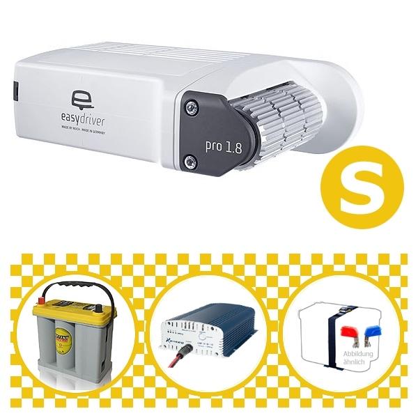 Easydriver pro 1.8 B2 Hobby BPW Rangierhilfe Reich mit Power Set Yellow S
