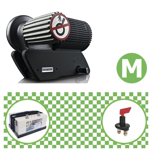 Truma Mover SR2 Rangierhilfe mit Power Set Green M X20