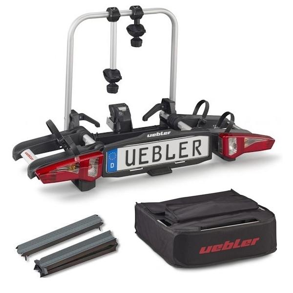UEBLER i21 Fahrradträger 15900 2 Räder faltbar inkl. Tasche und Auffahrschiene