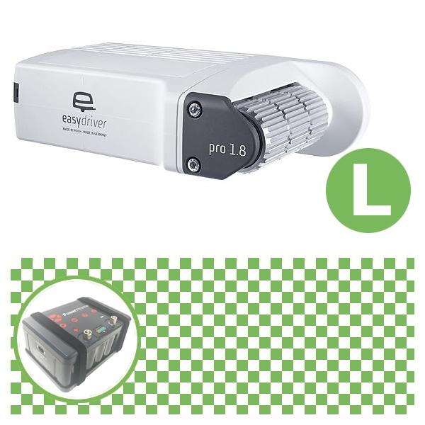 Easydriver pro 1.8 B2 Hobby BPW Rangierhilfe Reich mit Power Set Green L X30