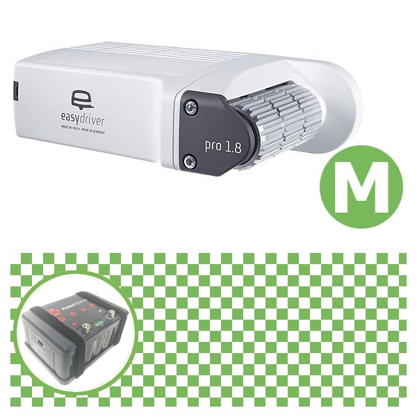 Easydriver pro 1.8 B2 Hobby BPW Rangierhilfe Reich mit Power Set Green M X20