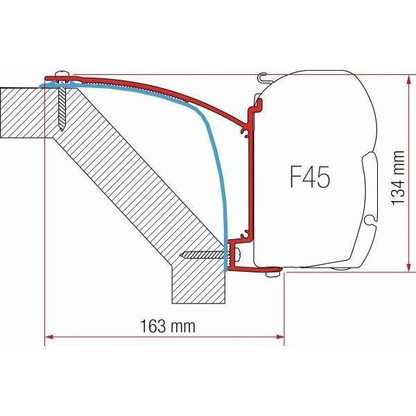 Adapter FIAMMA Kit Laika Ecovip 07 F45 F70 ZIP