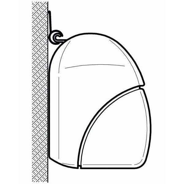 Adapter THULE OMNISTOR Kederleistenprofil 600 cm für Wandmontage