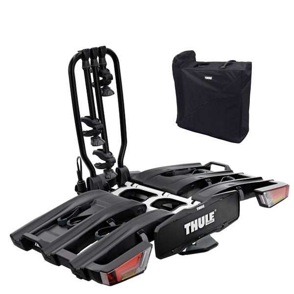 THULE 934 EasyFold XT 3 Fahrradträger faltbar black inkl. Tasche