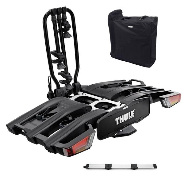 THULE 934 EasyFold XT 3 Fahrradträger black inkl. Rampe und Tasche