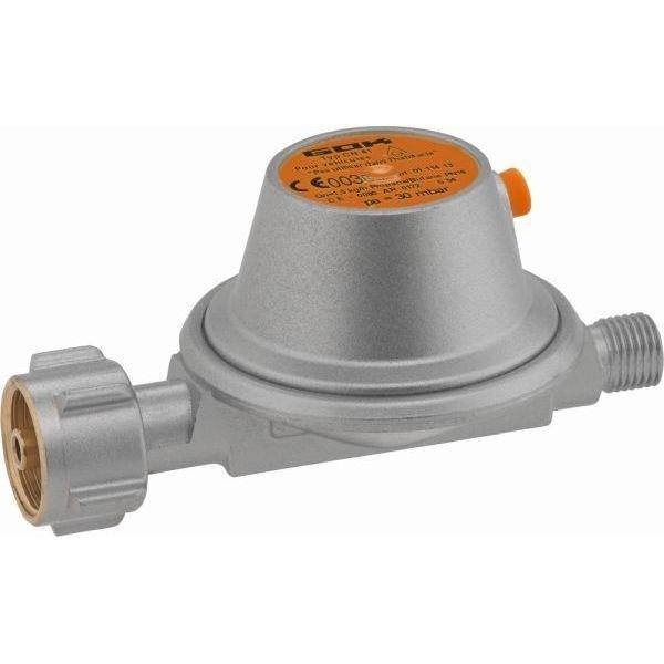 Gasdruckregler GOK 50 mbar 1,5 kg/h CH mit Sicherheits Abblaseventil ohne Manometer