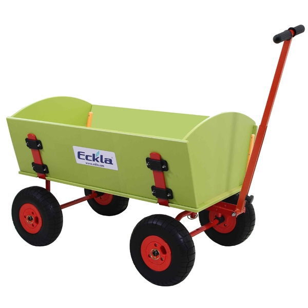 ECKLA Bollerwagen EcklaTrak Long 100 cm Playtec Luftreifen 78270