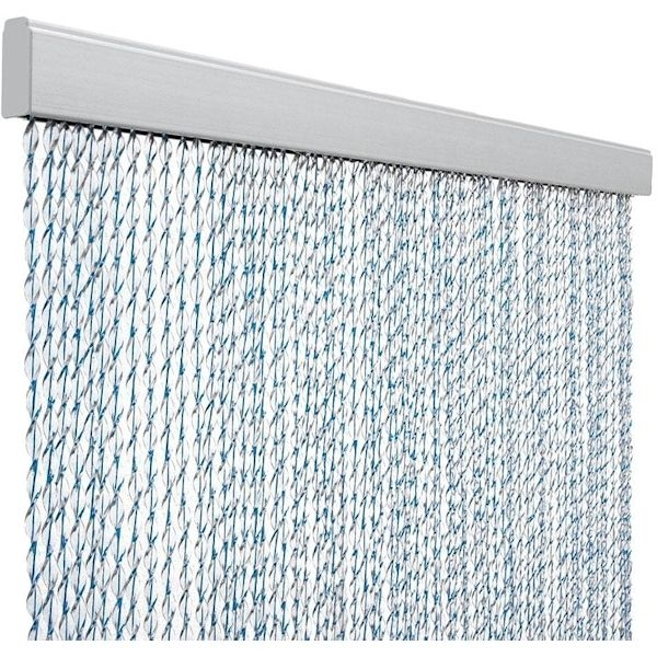 Türvorhang ARISOL Kordelvorhang SARA blau 60 x 190 cm