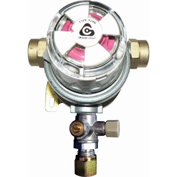 Umschaltanlage TGO Multimatik 30 mbar 8 mm SRV mit Prüfventil