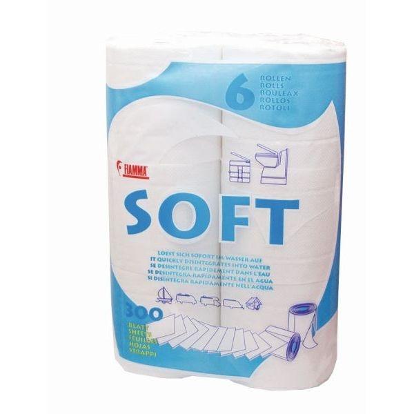 Toilettenpapier FIAMMA Soft WC Papier 6er Pack