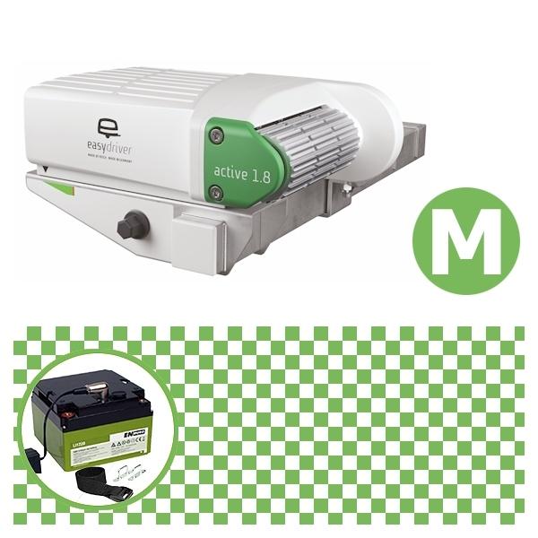 Easydriver active 1.8 Rangierhilfe Reich mit Power Set Green M Enduro