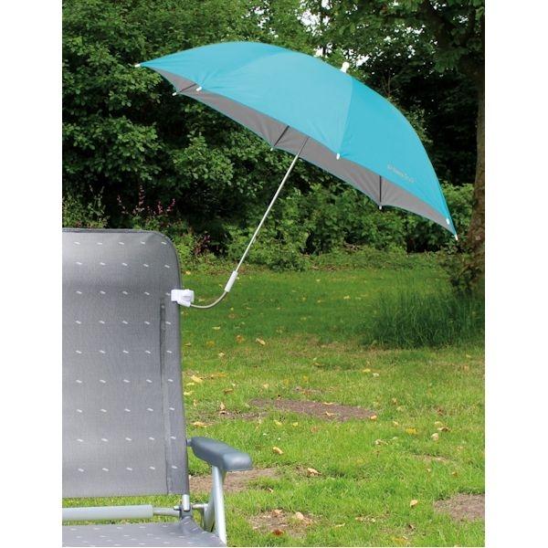 Sonnenschirm EUROTRAIL für Stühle blau