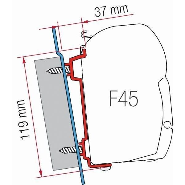 Adapter FIAMMA Kit Ford Transit H2 H3 für F45 F70 ZIP