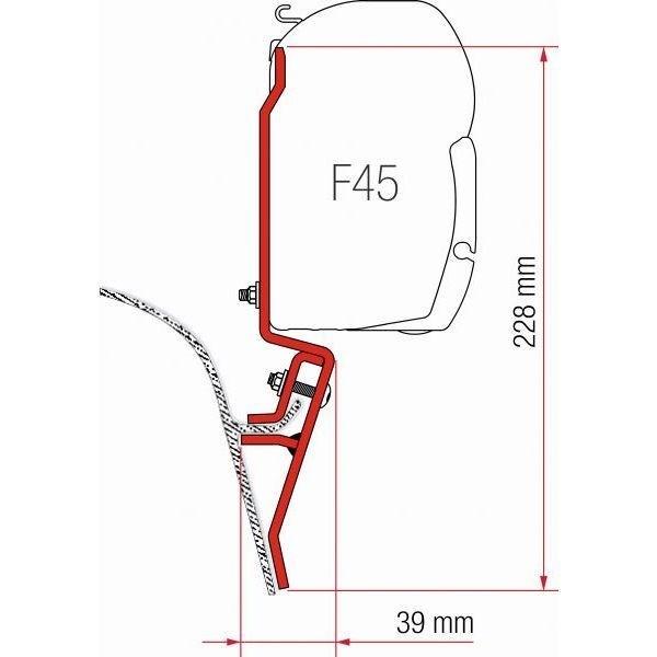 Adapter FIAMMA Kit VW T3 für F45 F70 ZIP
