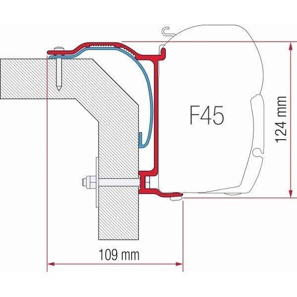 Adapter FIAMMA Kit Laika X F45 F70 ZIP