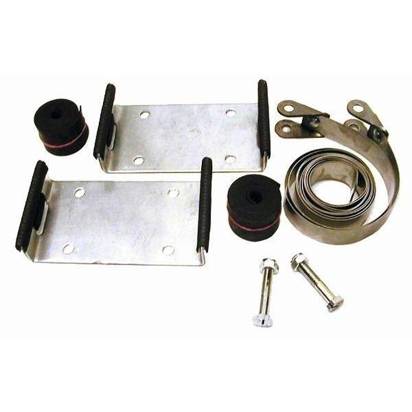 Metall Tankhalter GUG für Brenngastank bis ø 320 mm