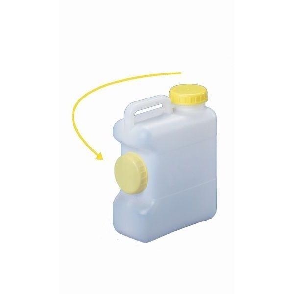 Weithals Wasserkanister COMET 10 Liter mit Deckeldepot