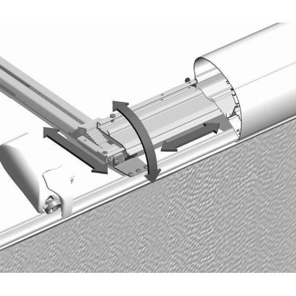 Adapter THULE OMNISTOR Universal 3er Set für Dachmontage
