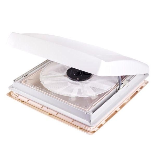Dachhaube THULE mit 12 V Ventilator weiß