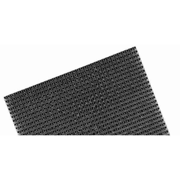 Fußmatte ARISOL Kunstrasen Platte 40 x 60 cm grau
