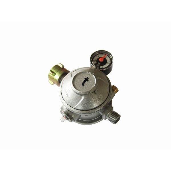 Gasdruckregler 50 mbar 2 stufig Innenbereichsregler mit thermischer Absperrung