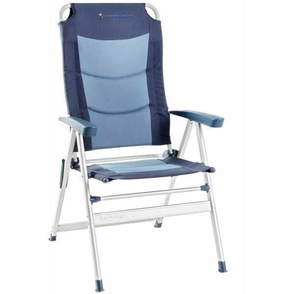 Campingstuhl KERRY SLIM Klappsessel 600 blau 2er Set