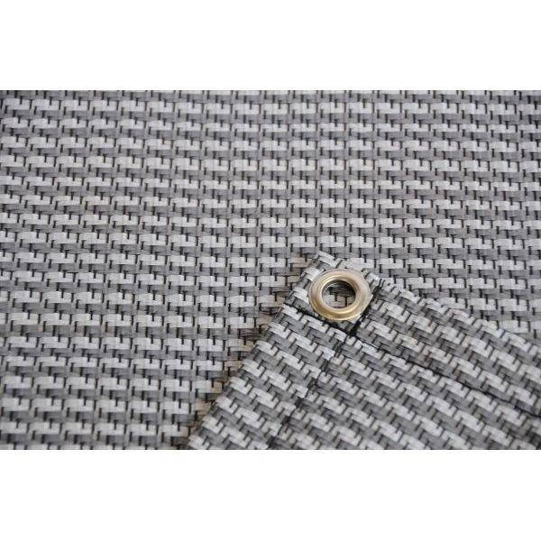Zeltteppich Premium grau 250 x 500 cm