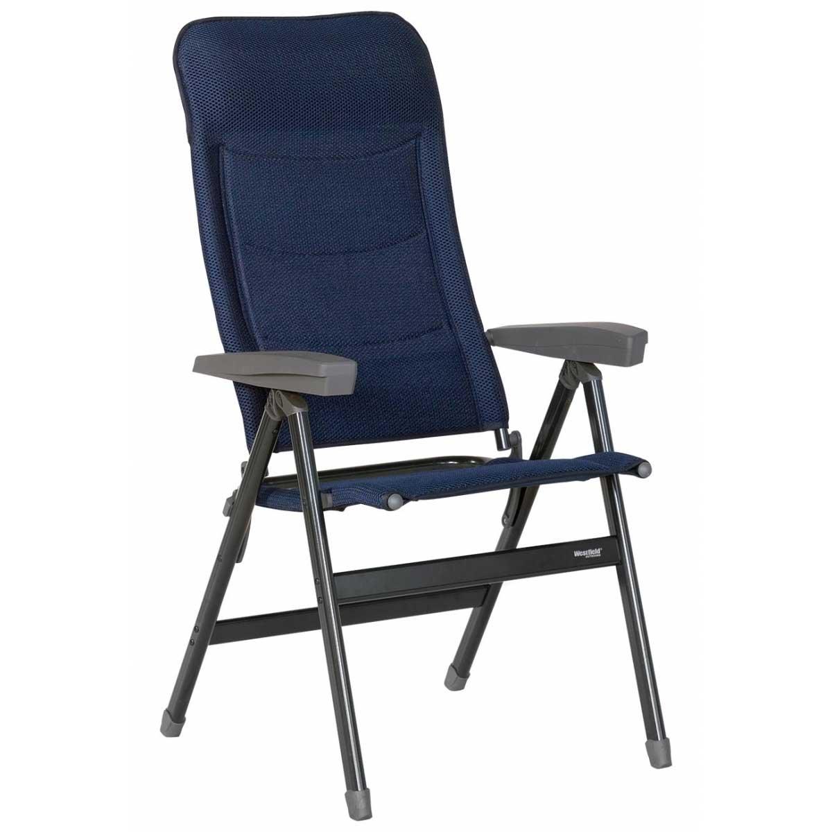 Gartenstuhl Campingstuhl WESTFIELD Advancer Klappsessel dark blau