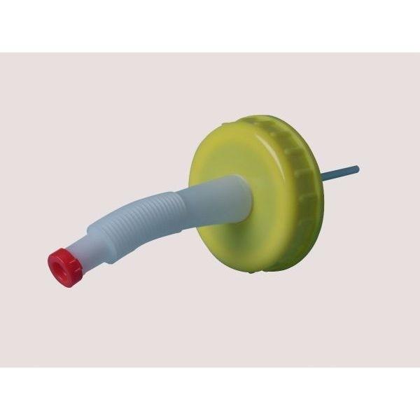 Verschluss COMET DIN 96 mit Ausgießer 14 cm