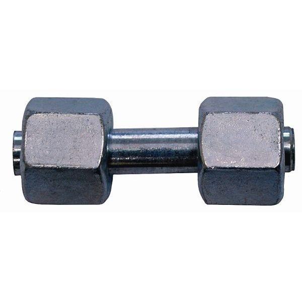 Gas Verbindungs Verschraubung bds. 8 mm Überwurfmutter