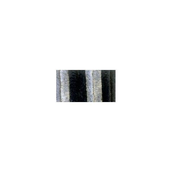 Türvorhang ARISOL Chenille Flauschvorhang 100 x 200 cm hgrau-dgrau